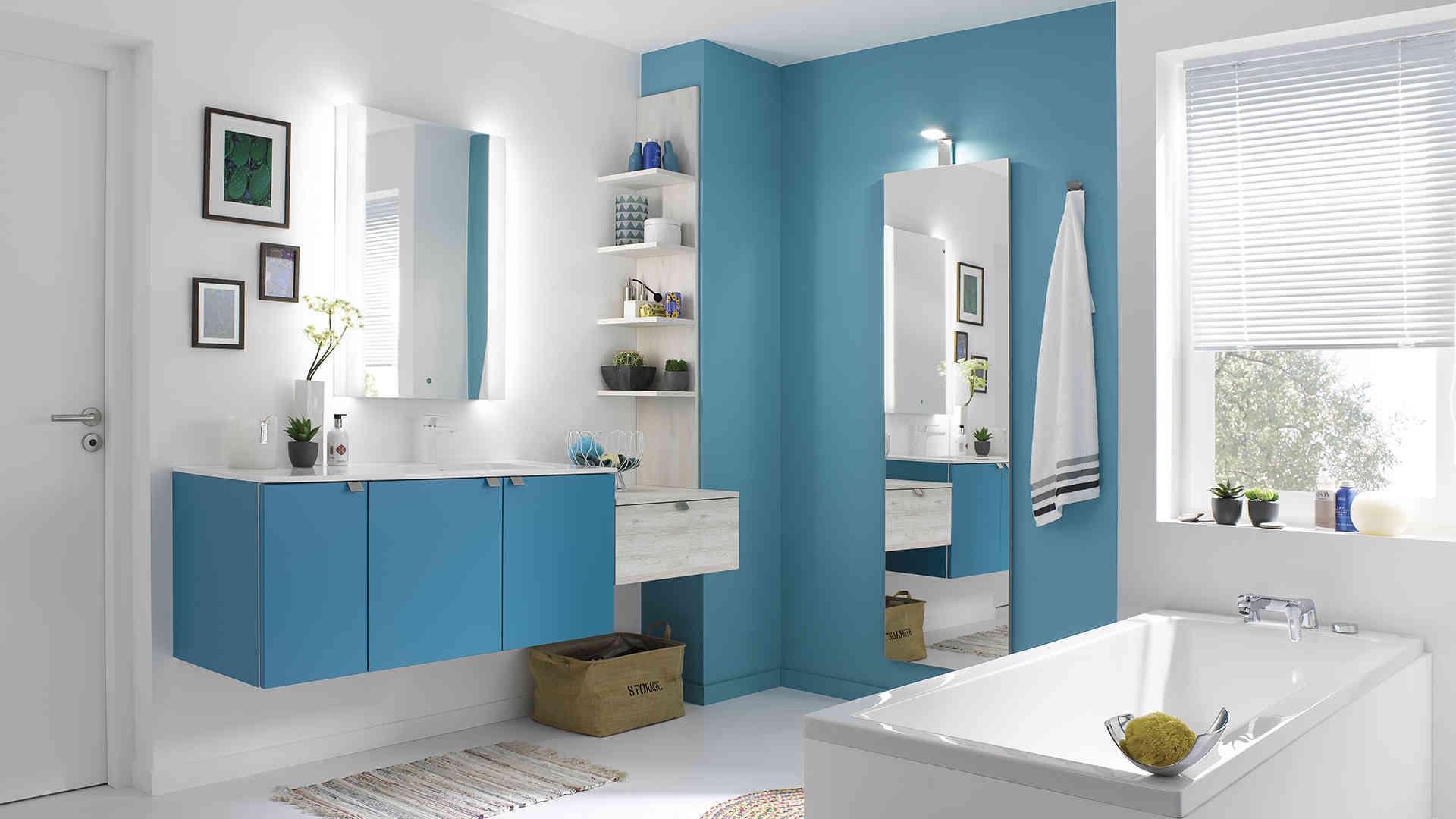 Les meubles de salle de bain un quipement pratique et for Equipement de salle de bain