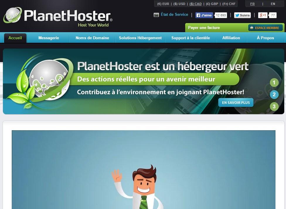 A propos de PlanetHoster